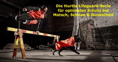 Hurtta Lifeguard Kollektion für optimalen Schutz in der Dunkelheit
